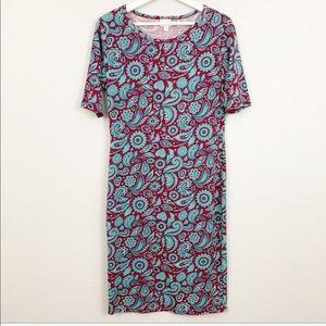 Lularoe julia paisley print dress